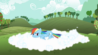 Rainbow Dash tail whip S3E3