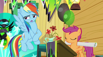 Rainbow admits eavesdropping is wrong S8E20