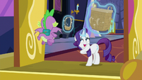 "Rarity ""the smaller one, right?"" S9E19"