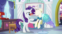 Rarity -I'd love to see her reaction- S5E14