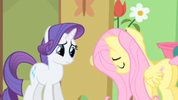 Rarity hears truth S1E20