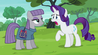 Rarity tells Maud the truth S6E3