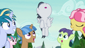 Rumble flying over the camper foals S7E21.png