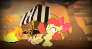 S04E17 Apple Bloom ucieka przed Chimerą