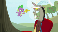 """Spike """"that was a gimme"""" S9E23"""