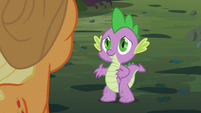 Spike -you saved my life!- S03E09