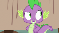Spike feeling proud of himself S7E15