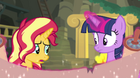 Sunset Shimmer -that sounds promising- EGFF