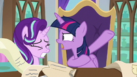 "Twilight Sparkle ""run a whole kingdom!"" S9E1"