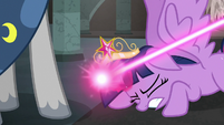 Twilight Sparkle collapses on the ground S7E26