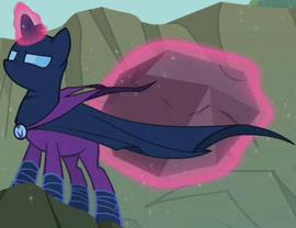 Twilight Sparkle como la Misteriosa Yegua Bienhechora ID T02E08