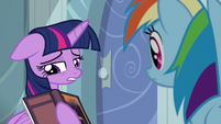 Twilight Sparkle jealous of Rainbow S6E13