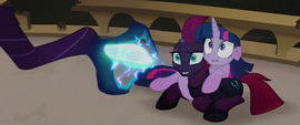 Twilight and Tempest about to be destroyed MLPTM