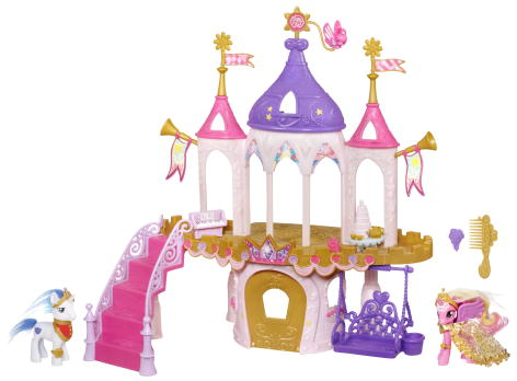 File:2012 Wedding Castle playset Shining Armor Princess Cadance.jpg