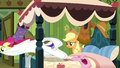 Apple Bloom jumping off the bed S3E4.png