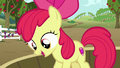 Apple Bloom on a tub of grapes happy S6E4.png