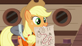 Applejack reveals a treasure map S6E22.png