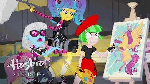 "MLP Equestria Girls - Friendship Games ""Photo Finished"" EXCLUSIVE Short"