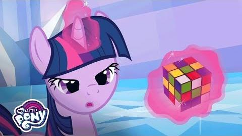 MLP Friendship is Magic - 'Twilight Sparkle Attempts a Rubik's Cube' 80's Flashback 🤔 ESTIn83