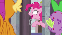 "Pinkie Pie ""is this the shouting closet?!"" S8E11"