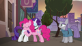 Pinkie Pie and Rarity hugging S6E3.png
