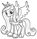 Princess Cadance groom suit ID PCPM