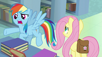 "Rainbow Dash ""make him sound like a hero!"" S9E21"