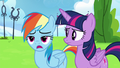 "Rainbow Dash ""yeah, they're still mad"" S6E24.png"