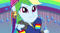 Rainbow Dash striking a cool pose EGS1