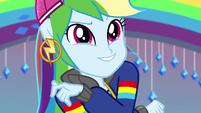 Rainbow Dash striking a cool pose EGS1