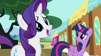 Rarity imagining her week in Manehattan S4E8