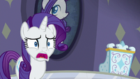 Rarity with her jaw hanging open S8E4
