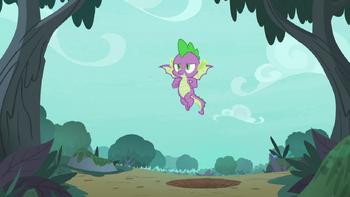 S08E11 Spike nauczył się latać
