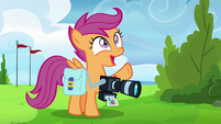 "Scootaloo ""first saw you as a Wonderbolt!"" S7E7"