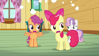 Scootaloo & Apple Bloom NO!! S3E4