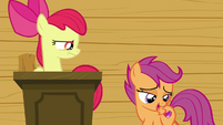 Scootaloo --how the colors just pop off your flank-- S6E4