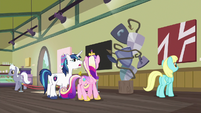 "Shining Armor ""is this art or... a mistake?"" S7E3"