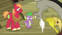 Spike --three of us would be way better than two-- S6E17