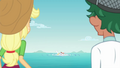 Timber and AJ see Bulk Biceps in the water EGDS20.png