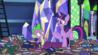 "Twilight ""spending the night outside"" S8E24"
