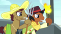 Angry mob stallions take up pitchfork and torch S5E6.png