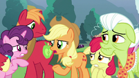 "Applejack ""where'd all these ponies come from?"" S9E25"