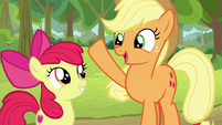 "Applejack ""won't know what hit him!"" S9E10"