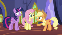 Applejack -You know everything about these fellers- S5E11
