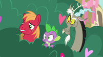 Big Mac and Spike start to get concerned S8E10