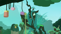 Chrysalis removes the water out of the bottle S5E26