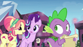 "Crystal Pony 1 ""Spike the Brave and Glorious"" S6E1.png"