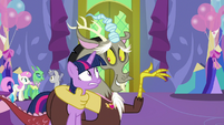 "Discord ""what are we going to do with her"" S7E1"