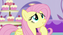 Fluttershy compliments the boutique S5E14