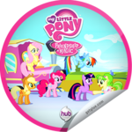 Games Ponies Play GetGlue sticker